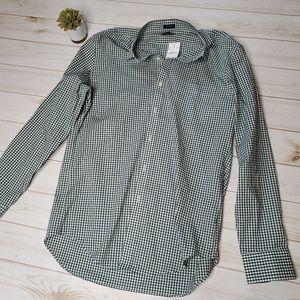 J Crew Flex Wrinkle Free Button Down Shirt Sz L